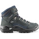 Lowa Renegade GTX Mid Shoes Men dark grey/navy